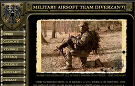 Military Airsoft Team Diverzanti
